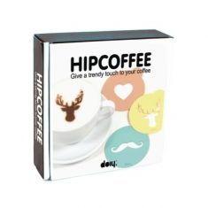 Milchschaum-Schablonen - Hip Coffee
