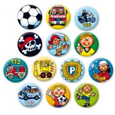 Mini-Buttons - Jungs