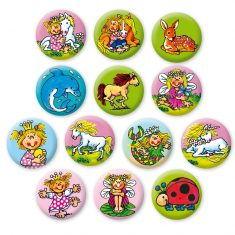 Mini-Buttons - Mädchen