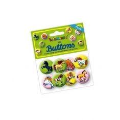 Mini-Buttons - Mein Ponyhof, 8er-Set