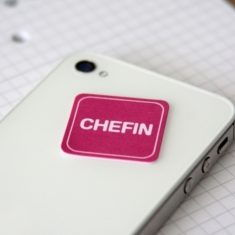 Mini-Display-Cleaner - Chefin, pink