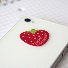 Mini-Display-Cleaner - Erdbeere, Freches Früchtchen