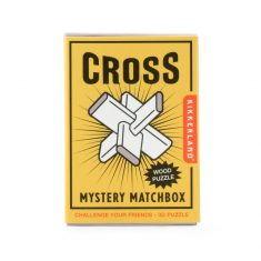 Mini-Holzpuzzle - Cross, Mystery Matchbox