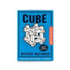 Mini-Holzpuzzle - Cube, Mystery Matchbox