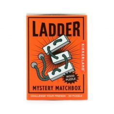 Mini-Holzpuzzle - Ladder, Mystery Matchbox