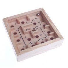 Mini-Labyrinth-Spiel, natur
