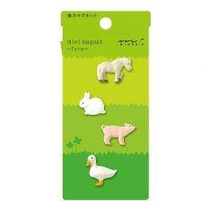 Mini Magnete - Farm, 4 Stück