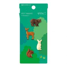Mini Magnete - Forest, 4 Stück