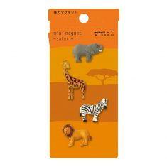Mini Magnete - Safari, 4 Stück