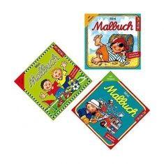 Mini-Malbuch mit Stickern - Jungs