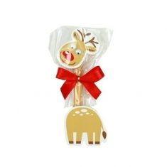 Mini-Schreibset Elch - Weihnachtswünsche