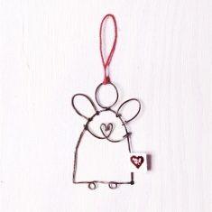 Mini-Schutzengel - Herz