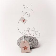 Mini Steingeschichte - Fahrrad