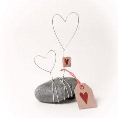 Mini Steingeschichte - Herz