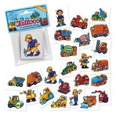 Mini-Tattoos - Fahrzeuge, 24er-Set
