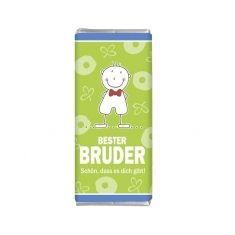 Minischokolade - Bester Bruder