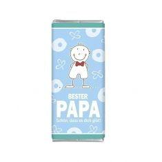 Minischokolade - Bester Papa
