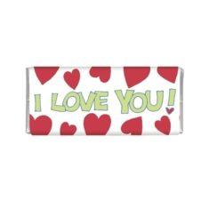 Minischokolade - I Love you!