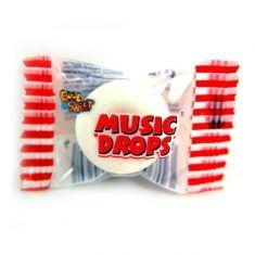 Music Drops Bonbon mit Pfiff