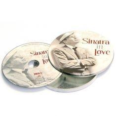 Musik-CD - Sinatra in Love