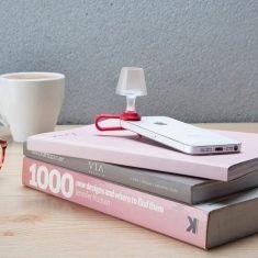 Nachtlicht für Mobiltelefone - Luma, rot