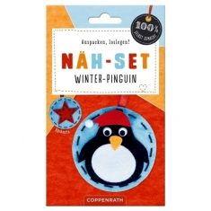 Filzanhänger - Winter-Pinguin