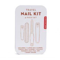 Nagelpflegeset - Travel Nail Kit, 4-teilig