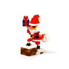 Nanoblock Mini Collection - Santa Claus on the Chimney