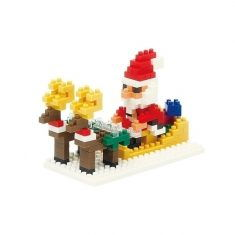 Nanoblock Mini Collection - Santa Claus & Reindeer