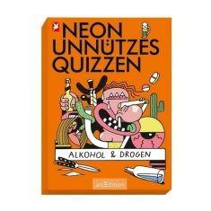 Neon Unnützes Quizzen - Alkohol & Drogen