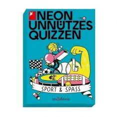 Neon Unnützes Quizzen - Sport & Spass