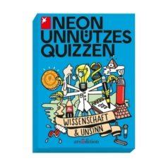 Neon Unnützes Quizzen - Wissenschaft & Unsinn