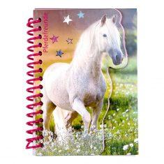 Notizbuch - Pferdefreunde, Schimmel