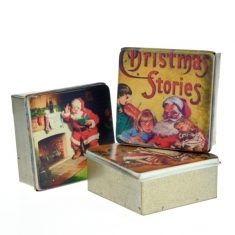 Nostalgische Blechdose - Santa Claus
