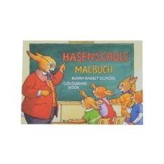 Oster-Malbuch - Hasenschule