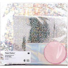 Holographie-Geschenktüten-Set, 6-teilig