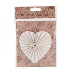 Papierfächer-Herz