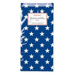 Papiertüten - Sterne dunkelblau, 6er-Set