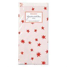 Papiertüten - Sterne rosa-rot, 6er-Set
