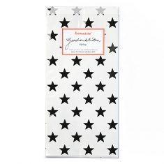 Papiertüten - Sterne schwarz, 6er-Set
