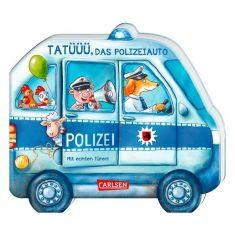 Pappbuch - Tatüüü, das Polizeiauto