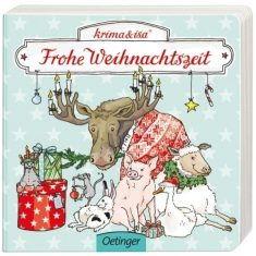 Pappbuch - Weihnachten, krima & isa