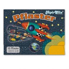 Pflasterbriefchen - Rakete