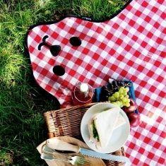Picknick Decke - Bären-Fell