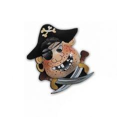 Pirat aus Vollmilchschokolade