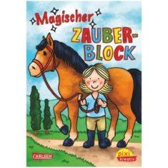 Pixi kreativ - Magischer Zauberblock, Pferde