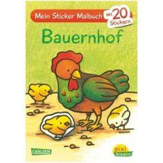 Pixi kreativ - Mein Sticker-Malbuch, Bauernhof