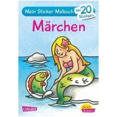 Pixi kreativ - Mein Sticker-Malbuch, Märchen
