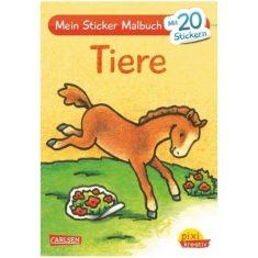 Pixi kreativ - Mein Sticker-Malbuch, Tiere