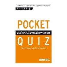 Pocket Quiz - Mehr Allgemeinwissen
